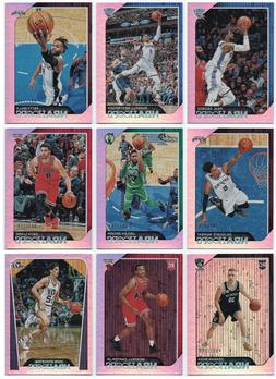 2018-19 Hoops Silver Parallel /199 Pick Any Complete Your Se