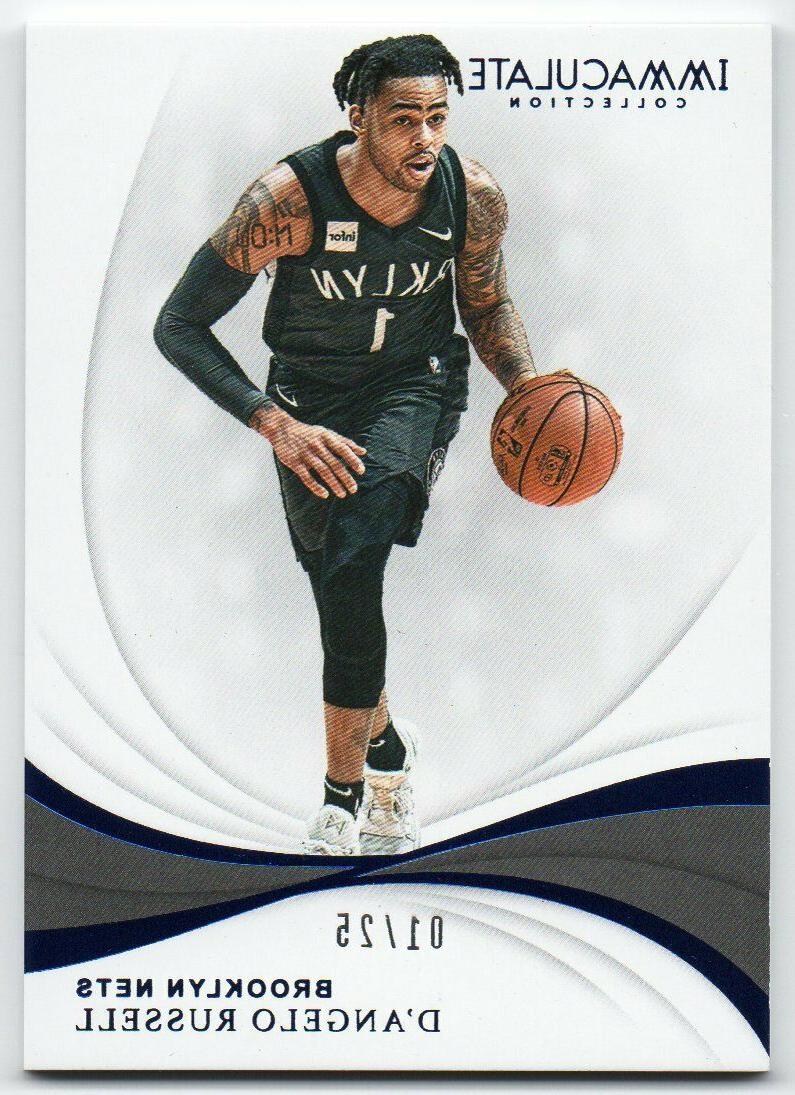 2018 19 immaculate collection blue parallel 25