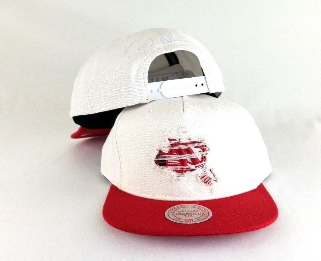 Mitchell Ness NBA Philadelphia 76ers Red Hat