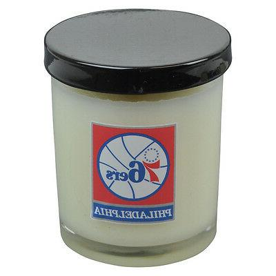 nba philadelphia 76ers scented 3 inch glass