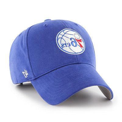 philadelphia 76ers 47 brand mvp adjustable hat