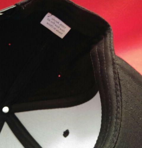 Philadelphia Cap Black Flat Snapback Hat