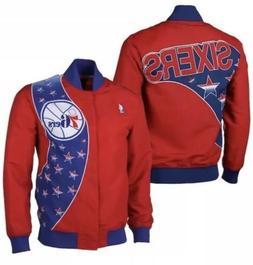 Mitchell & Ness NBA Philadelphia 76ers Warm Up Jacket Mens S