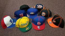 NBA NFL MLB Fitted Baseball Caps, Size 7-5/8, Reebok and New