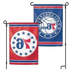 WinCraft NBA Philadelphia 76Ers 2-Sided Garden Flag