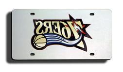NBA Philadelphia 76ers Laser Cut Auto Tag, Silver