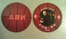 Paul Arizin Philadelphia 76ers NBA Round Ball CHINESE Playin