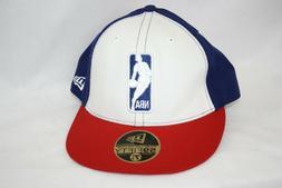 New Era Philadelphia 76'ers Sixers NBA Logo Blue White Fitte