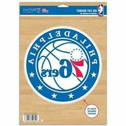 "Philadelphia 76ers WinCraft 6"" x 9"" Car Auto Truck House  Ma"