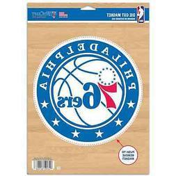 "Philadelphia 76ers WinCraft 6"" x 9"" Car Magnet"