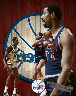 Philadelphia 76ers Lithograph print of Wilt Chamberlain