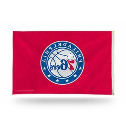 Philadelphia 76ers NBA 3X5 Indoor Outdoor Banner Flag with g