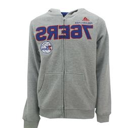 Philadelphia 76ers NBA Adidas Apparel Kids Youth Size Full Z