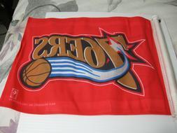 Philadelphia 76ers NBA Team Logo Car Auto Flag - Sixers