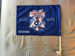 Philadelphia 76ers Sixers Phila Unite Blue Car Flag Snake Li