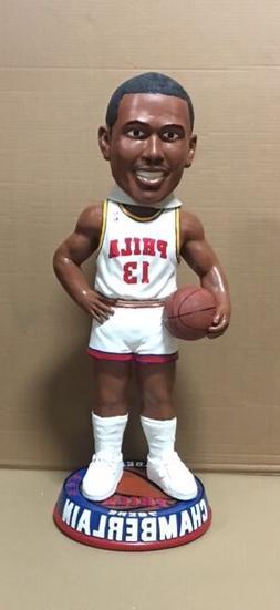 """Wilt Chamberlain 36"""" Bobble Bobblehead Philadelphia 76ers Wh"""
